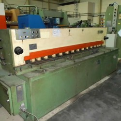 Sheet metal working / shaeres / bending - Plate Shear - Hydraulic - LVD MV 25/4