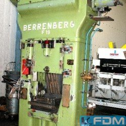 Presses - screw press - BERRENBERG RSPP 125 / 160