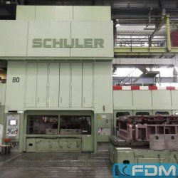 Crank Press - Double Column - SCHULER EBS 4-600-3,6-350