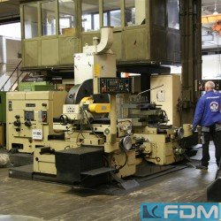 Facing Lathe - WMW Niles DP 1