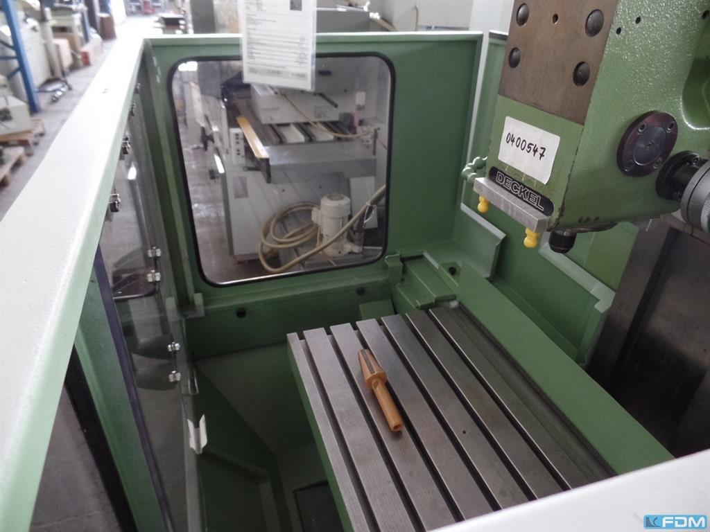 Universal Milling Machine Deckel Fp42 Nc 4 Achsen 4 Axis