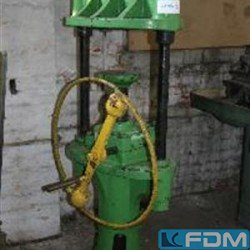 Hand-Operated Fly Press - FRITZ KAEFER HANNOVER FK 80