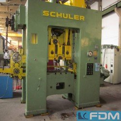 Presses - Eccentric Press - Double Column - SCHULER P2ESs 125