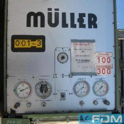 Single Column Press - Hydraulic - MÜLLER CAZ 200