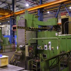 Floor Type Boring and Milling M/C - Hor. - SCHARMANN Ecocut 2,5/TD4