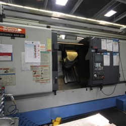 CNC Turning- and Milling Center - MAZAK INTEGREX 400 IISY