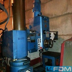 Radial Drilling Machine - WMW- FRITZ HECKERT BR40/2 x1250
