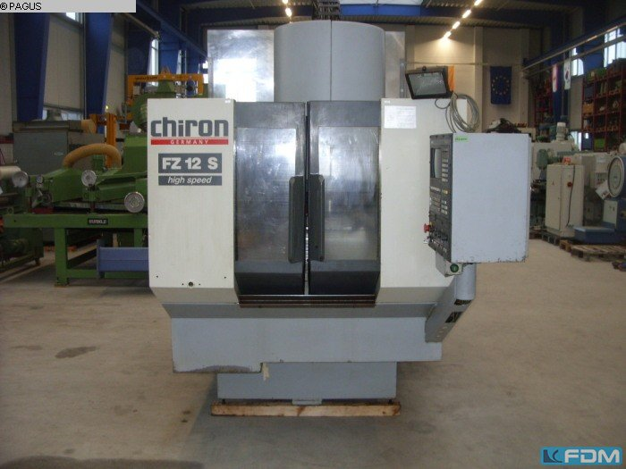 machining center vertical chiron fz 12 s high speed pagus rh machinestock com FZ New Model FZ S Black