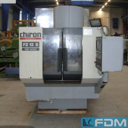 Machining Center - Vertical - CHIRON FZ 12 S High Speed