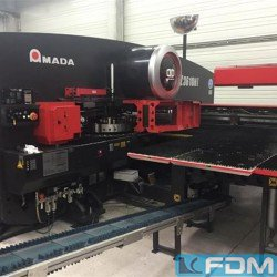 Sheet metal working / shaeres / bending - Punching Machine - hydraulic - AMADA EMZ 3610