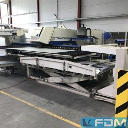 Punching Machine - hydraulic - TRUMPF TC 5000 R - 1600 FMC