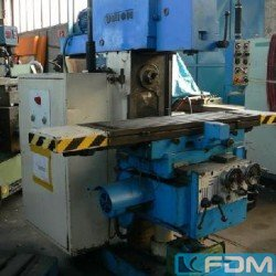 Milling machines - Knee-and-Column Milling Machine - univ. - UNION-BIELEFELD USF 4