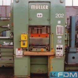 Double Column Drawing Press - Hydraulic - FRITZ MUELLER S 40.11.1