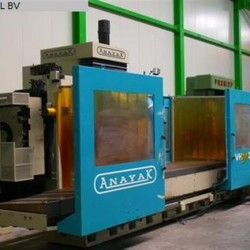 Bed Type Milling Machine - Universal - ANAYAK VH 3000 PLUS