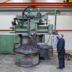 Vertical Turret Lathe - Single Column - Jungenthal DK 1700