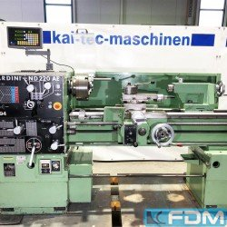 Lathes - Center Lathe - Nardini ND 220 AE