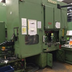 double-sided high speed press - KAISER V 100 W 1080