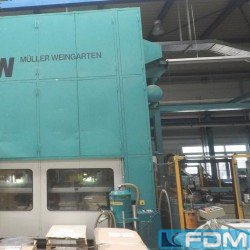 double-sided high speed press - MÜLLER WEINGARTEN HUQ 400.36 F