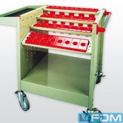 Tool carriage - V-TRADE TW 4B - ISO 50