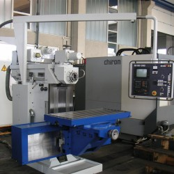 Milling machines - Knee-and-Column Milling Machine - SHW UF21
