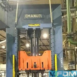 Four Column Press - Hydraulic - Emanuel 500T PHC 1600x1300mm