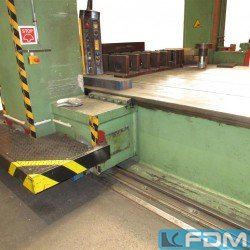 Straightening Press - Double Column - Gebr. Steiner KG 400T Portal Richtpresse 6000x3000mm