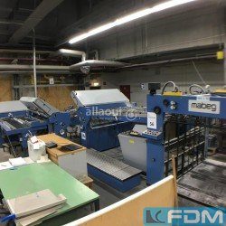 folding machines - HERZOG+HEYMANN M7 162 1-2-2-2 + SBAP 72 ME