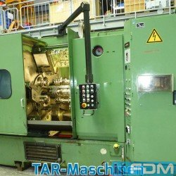 Bar Automatic Lathe - Multi Spindle - SCHUETTE SF67
