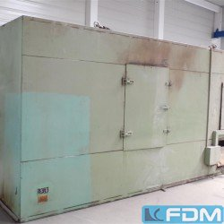 Drying oven for aluminum collapsible tubes - METZGER UND BECKER TRD 200.1