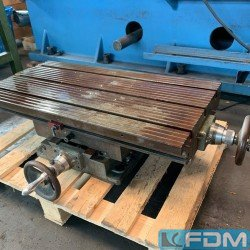 Other accessories for machine tools - Cross-Moving-Table - Kreuztisch 750x370