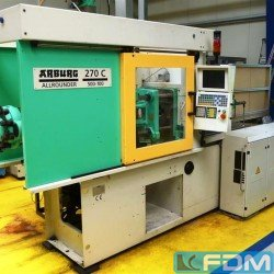 Injection molding machines - Injection molding machine up to 1000 KN - ARBURG 270 C 500-100