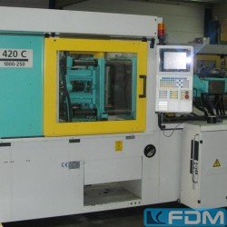 Injection molding machines - Injection molding machine up to 1000 KN - ARBURG 420 C 1000-250