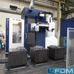 Milling machines - Travelling column milling machine - SORALUCE FP 6000